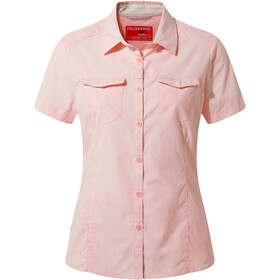 Craghoppers NosiLife Adventure II Shortsleeved Shirt Women seashell pink